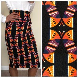 NEW Pencil Skirt BUTTERFLIES 2 - 4 Career CASSIE